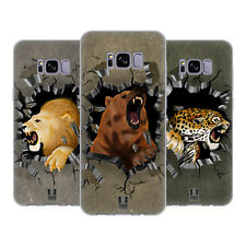HEAD CASE DESIGNS ANIMAL RAMPAGE SOFT GEL CASE FOR SAMSUNG GALAXY S8+ S8 PLUS