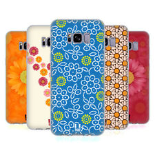HEAD CASE DESIGNS DAISY PATTERNS SOFT GEL CASE FOR SAMSUNG GALAXY S8+ S8 PLUS
