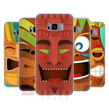 HEAD CASE DESIGNS TIKI COLLECTION SOFT GEL CASE FOR SAMSUNG GALAXY S8+ S8 PLUS