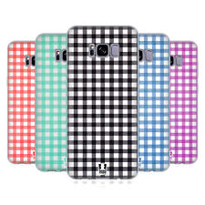 HEAD CASE DESIGNS GINGHAM-PATTERNS SOFT GEL CASE FOR SAMSUNG GALAXY S8+ S8 PLUS