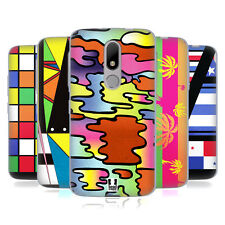 HEAD CASE DESIGNS 1980S PRINTS AND PATTERN SOFT GEL CASE FOR MOTOROLA MOTO M