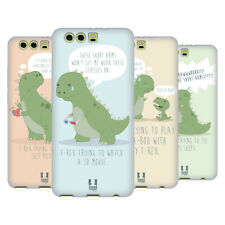 HEAD CASE DESIGNS HARD TIMES OF A T-REX SOFT GEL CASE FOR HUAWEI P10 PLUS