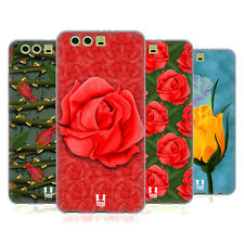 HEAD CASE DESIGNS ROSES SOFT GEL CASE FOR HUAWEI P10 PLUS