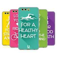 HEAD CASE DESIGNS WORKOUT INSPIRATIONS SOFT GEL CASE FOR HUAWEI P10 PLUS