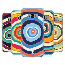 HEAD CASE DESIGNS COLOURFUL TREE RINGS HARD BACK CASE FOR SAMSUNG GALAXY S8