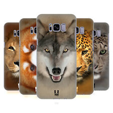 HEAD CASE DESIGNS ANIMAL FACES 2 HARD BACK CASE FOR SAMSUNG GALAXY S8+ S8 PLUS