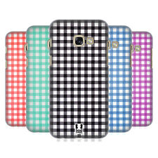 HEAD CASE DESIGNS GINGHAM-PATTERNS HARD BACK CASE FOR SAMSUNG GALAXY A3 (2017)