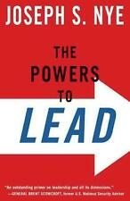 The Powers to Lead by Joseph Nye Paperback Book (English)