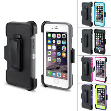 Heavy Duty Antichoc Hybride Housse Rigide Coque Etui Cover pour iPhone 6 6S