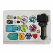 New 4D Fusion Top Metal Master Rapidity Fight Rare Beyblade Launcher Grip Set HT