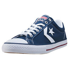 Converse Star Player Ev Ox Kids Trainers Navy White New Shoes