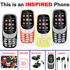INSPIRED BY Nokia 3310 Classic 2017 Edition Dual Sim Unlocked Cell Mobile Phone