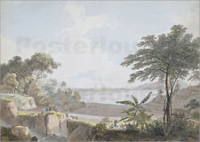 Poster / Leinwandbild View of the Canton River, near Whampoa, ... - T. Daniell
