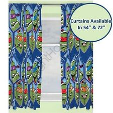 "Teenage Mutant Ninja Turtles Dimensión Cortinas Disponible en 54"" & 72"" Oficial"