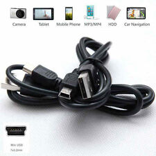 1m 2m USB 2.0 A Male to Mini B 5 Pin Data Charging Power Cable for TomTom Garmin