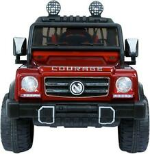 Rocket Courage - Kids Electric Battery Ride on Jeep Car 12v - Twin 2 Seater
