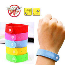 5 x ANTI MOSQUITO BUG REPELLENT WRIST BAND BRACELET INSECT BUG CAMPING