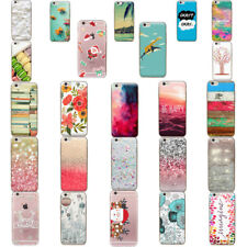 Patterned Soft TPU Silicone Back Case Cover Custodie For iPhone SE 6 6s Plus 5c
