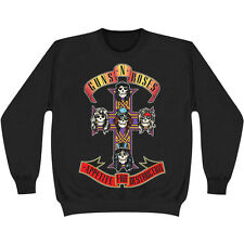 MENS GUNS N ROSES CLASSIC APPETITE FOR DESTRUCTION SWEATSHIRT TOP M - XL