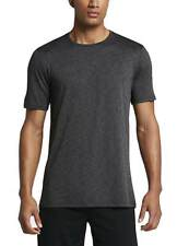 NIKE UOMO DRIFIT CASUAL TRAINING T-SHIRT NIKE BREATHE TOP SS Nero/Grigio