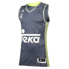 ADIDAS UOMO REALE MADRID REPLICA basket jersey canotta palestra sport fitness