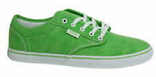 Vans Atwood Low Canvas Lace Up Green Womens Trainers Plimsolls NJO6HB Vans C