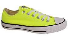 Converse Chuck Taylor All Star OX Lace Up Mens Trainers Yellow 139792F D111