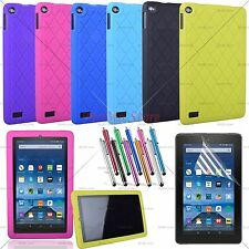 Kiddie Shock Proof Silicone Case Cover For 2017 Amazon Kindle Fire 7, HD 10 Tab