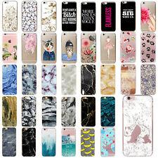 Funda Carcasa Case Cover Thin Protective Pattern TPU For iPhone SE 5 6s 7 Plus