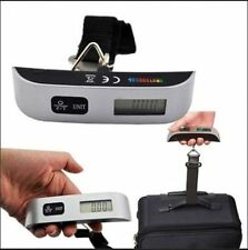 50kg Portable Hanging Electronic Digital Suitcase Luggage Weighing Scales GH