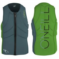 ONeill Slasher Kite Vest Herren Neopren Weste Dusty Blue-Dayglow