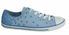 Converse Chuck Taylor Dainty Lace Up Blue Floral Womens Trainers 547150C M5