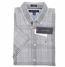 Tommy Hilfiger Men's Short Sleeve Button-Down Plaid Casual Shirt - $0 Free Ship