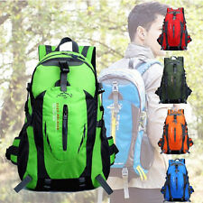 40L MOBILE CAMPEGGIO NYLON VIAGGIO BORSA ZAINO OUTDOOR IMPERMEABILE OUTDOORS