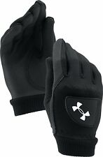Under Armour Cold Gear 1 Par Hombre Guantes Golf Negro s,M,L,XL Caliente Seco