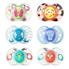 Tommee Tippee Fun Style Soothers 6-18 months Boys/Girls - CHOICE OF DESIGN (A62)