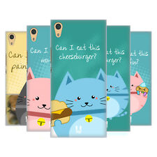HEAD CASE DESIGNS CURIOUS CATS HARD BACK CASE FOR SONY XPERIA XA1 ULTRA / DUAL
