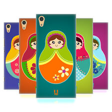 HEAD CASE DESIGNS NESTING DOLLS HARD BACK CASE FOR SONY XPERIA XA1 ULTRA / DUAL