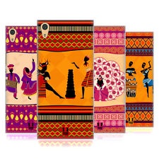 HEAD CASE DESIGNS ETHNIC DANCES HARD BACK CASE FOR SONY XPERIA XA1 ULTRA / DUAL