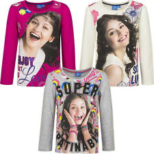 GIRLS LICENSED DISNEY SOY LUNA  AUTUMN LONG SLEEVES T SHIRT TOP