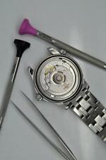 Omega Seamaster Automatic Quartz Co-Axial Watch Movement Service Battery Change
