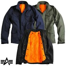 ALPHA INDUSTRIES giacca uomo M-65 HERITAGE field jacket giacca 2 1 Giacca