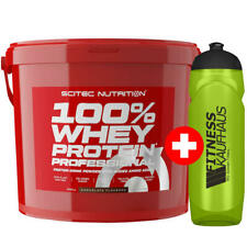 Scitec Nutrition 100 % Whey Protein Professional 5000g Eiweiss + Trinkflasche