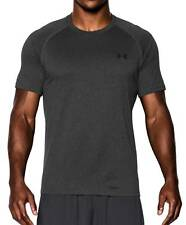 Under Armour Hombre Fitness Entrenamiento Camiseta UA Tech ™ carbón heather