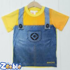 Boys or Girls Minion T Shirt Official Despicable Me Top Kids Age 3-9 Years