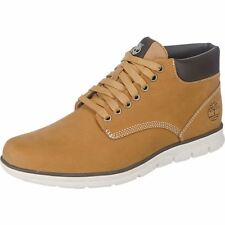 Timberland Men`s A1989 Bradstreet Chukka Leather Hohe Sneakers Nubukleder Wheat