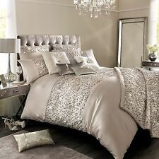 Kylie Minogue Bedding HELENE Nude / Beige Duvet / Quilt Cover, Cushion or Throw