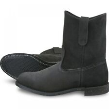 Red Wing  Mens Boots 8844 11-Inch Pecos Heritage Work Black Abilene  Black