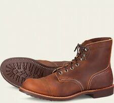 Red Wing  Mens Boots 8085 Iron Ranger Heritage Work Copper Rough & Brown