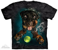 (5008) The Mountain T-Shirt Shirt UNDERWATER DOG MYLO by Seth Casteel